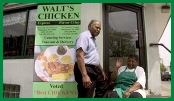 Founder of Walts Chicken